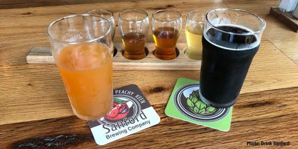 Craft Beer Scene in Historic Downtown Sanford