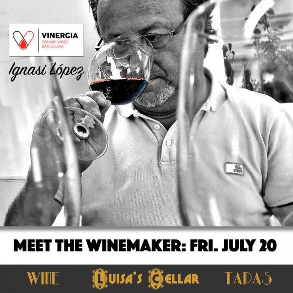 Meet Winemaker at Luisa's Cellar