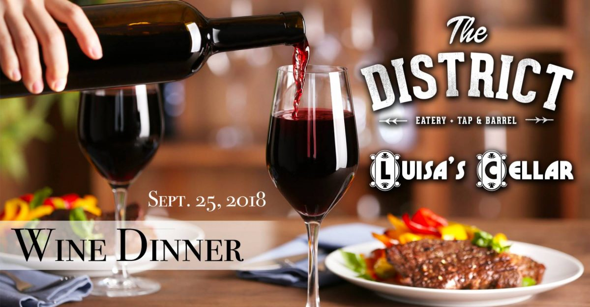 Wine Dinner at The District