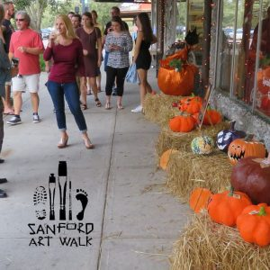Autumn Paints in Colors that Summer has Never Seen | Sanford Art Walk