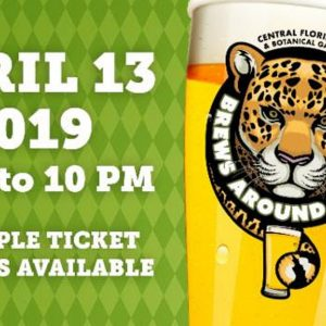 Brews Around the Zoo Returns to the Central Florida Zoo & Botanical Gardens