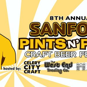 8th Annual Pints n' Paws Craft Beer Festival in Historic Downtown Sanford