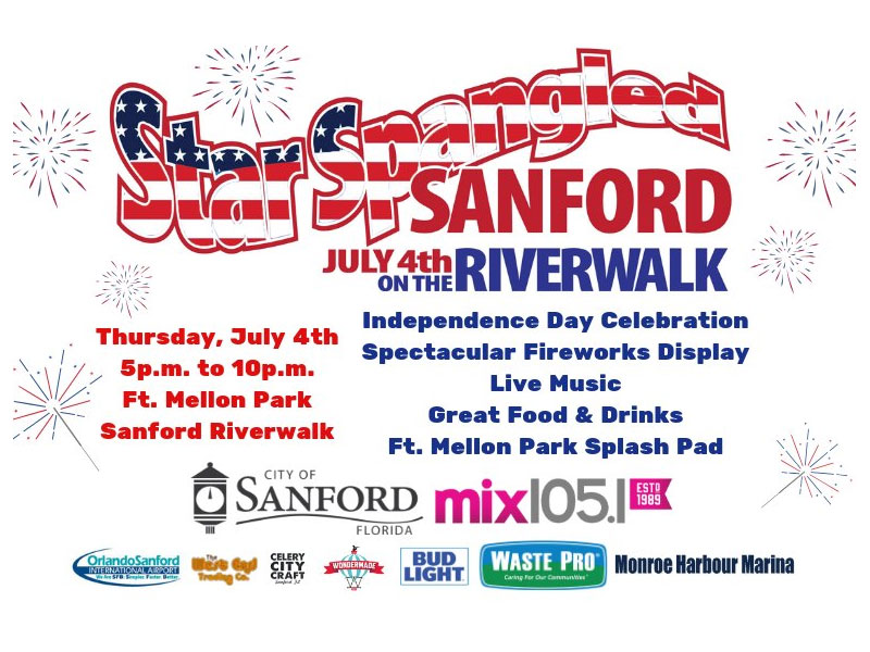 Star Spangled Sanford 4th of July Fireworks 2019