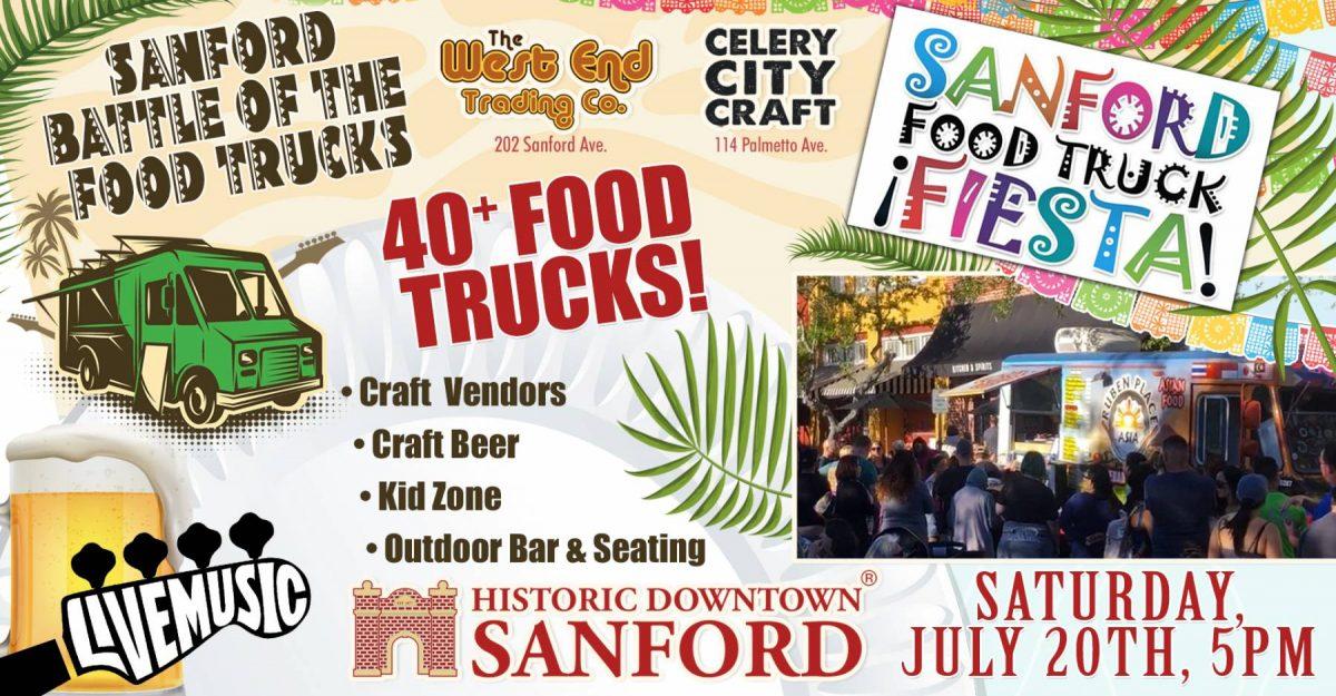 Sanford Battle of the Food Trucks - Official
