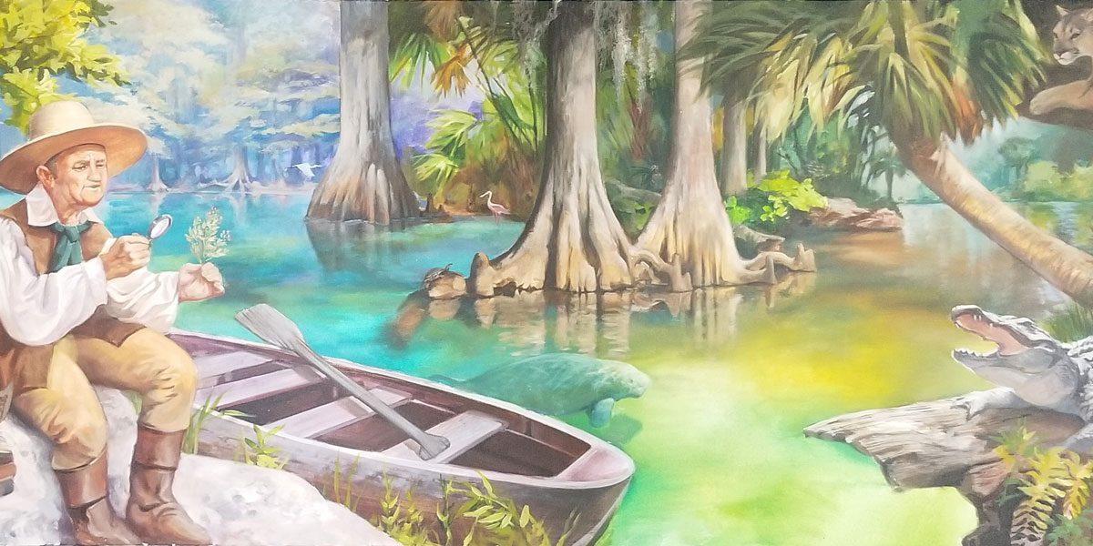 The Basin Bar - Old Florida - artist Keith Goodson