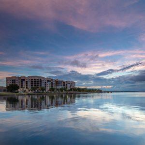 Sky Over Lake Monroe
