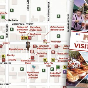 Sanford, FL Visitors Guide Fall 2019 v3 to be Printed and Distributed This Week for Sanford Food Truck Fiesta