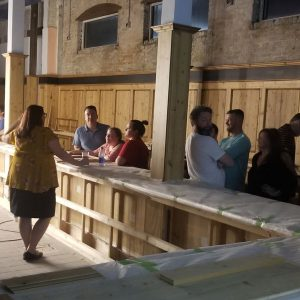 Project Hollerblock Update – Expansion of Restaurant & Downstairs Bar on Schedule for November 2019