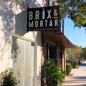 Brix & Mortar Urban Winery Poised to be Sanford's First Wine Producer