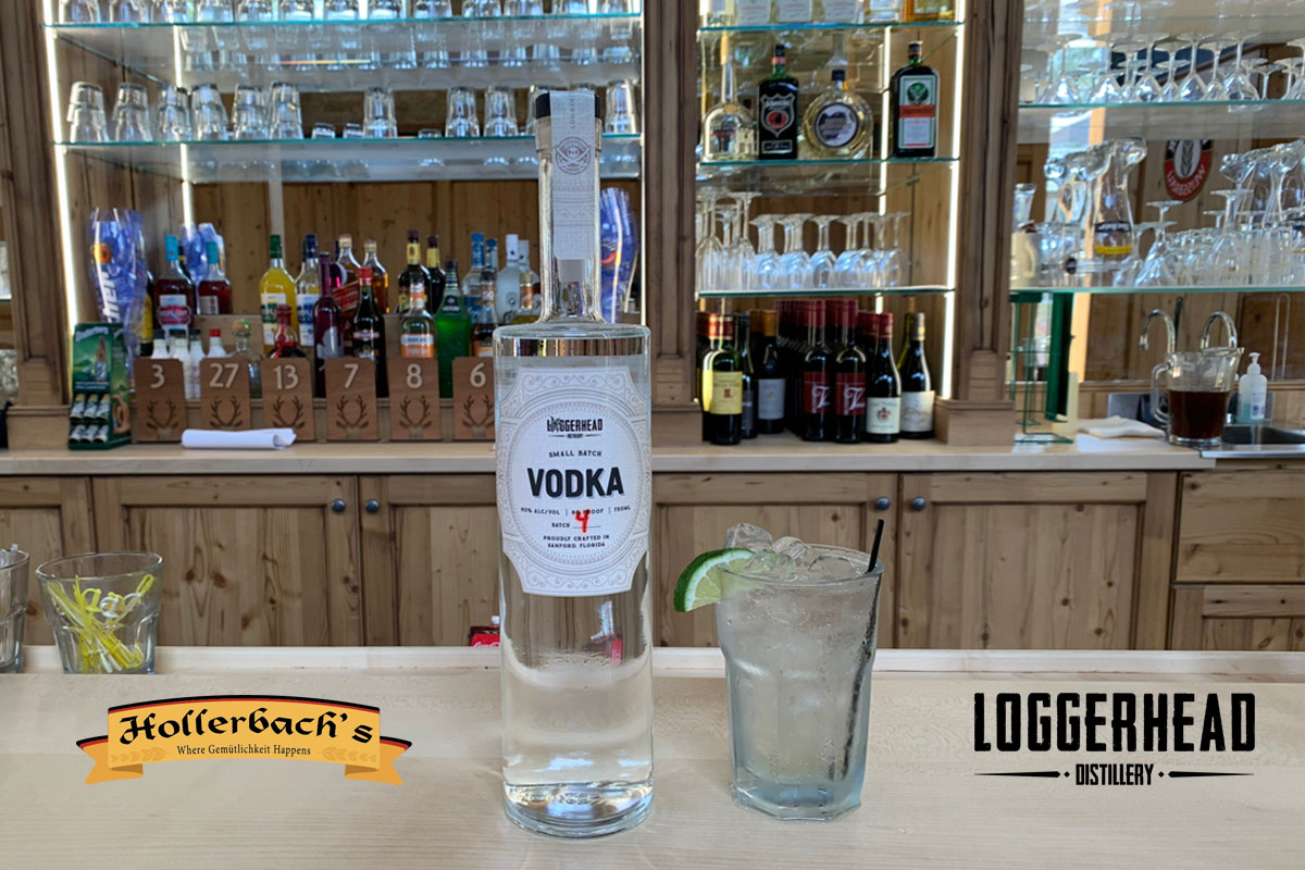 Hollerbach's Willow Tree Cafe to Carry Loggerhead Vodka Exclusively
