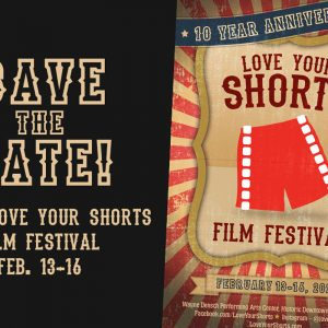 10th Annual Love Your Shorts Film Festival  in Sanford Features 81 Films from 12 Countries