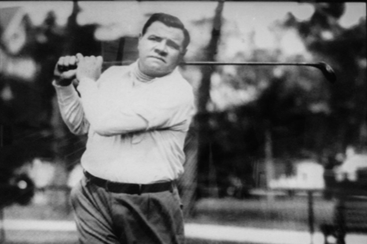 Babe Ruth at Mayfair Country Club