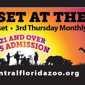 Sunset at the Zoo returns to Central Florida Zoo & Botanical Gardens