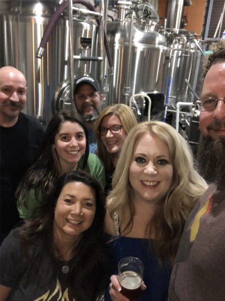 Sanford Brew Crew at Deviant Wolfe Brewery