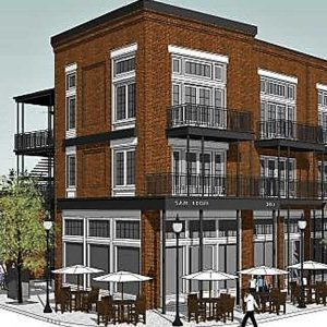 San Leon Mixed Use Development on Sanford Ave. Nearing Completion