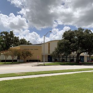 The Sanford Civic Center – City Awaits Assessment on Viability of Refurbishing Mid-Century Modern Structure