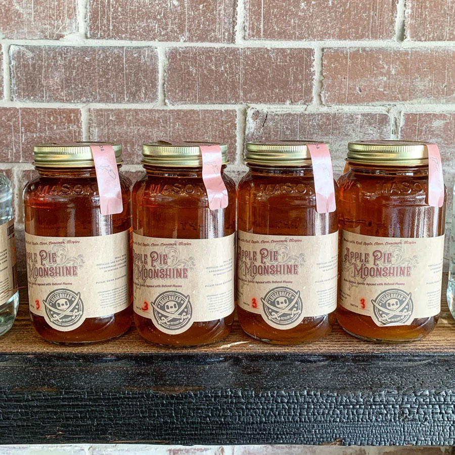 Loggerhead Apple Pie Moonshine