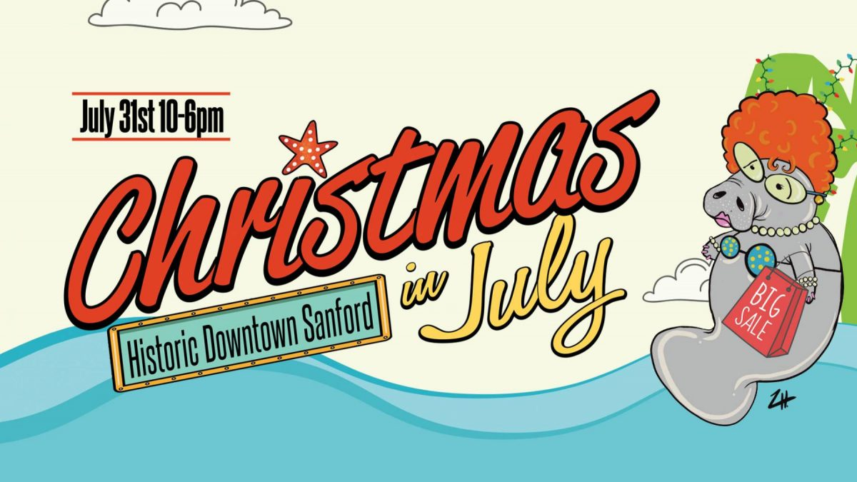 Christmas in July Sanford