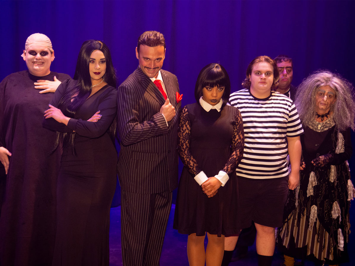 The Addams Family at The Ritz Theater