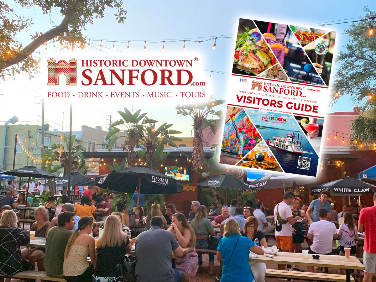Behind the Historic Downtown Sanford Brand