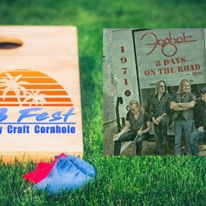 New Family-Friendly Festival Featuring Cornhole Tournament and Legendary Rockers Foghat by Riverwalk